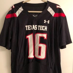 Under Armor Texas Tech Jersey Size M Worn Once